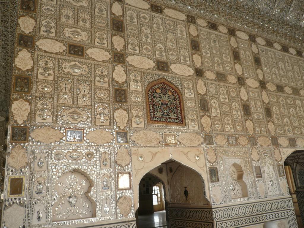 Voyages inde jaipur le fort d amber matching points for Porte de cour